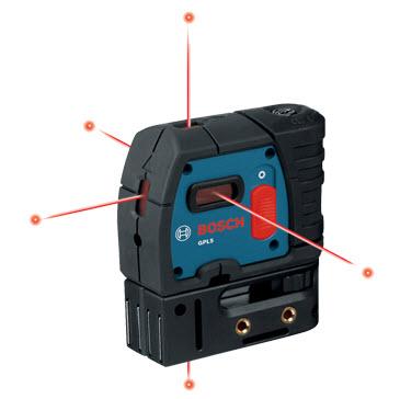 เครื่องวัดระดับ วัดดิ่งเลเซอร์ Bosch Gpl 5